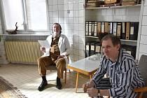 Natáčení filmu Slovo v Litomyšlské nemocnici.