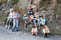 Prázdniny dětí z domova v Poličce.