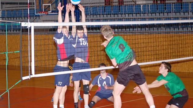 Junioři Svitavy v zápase proti Beskydům.