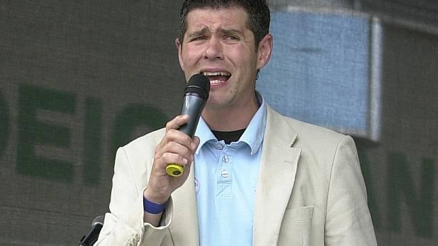 Imitátor Petr Martinák.