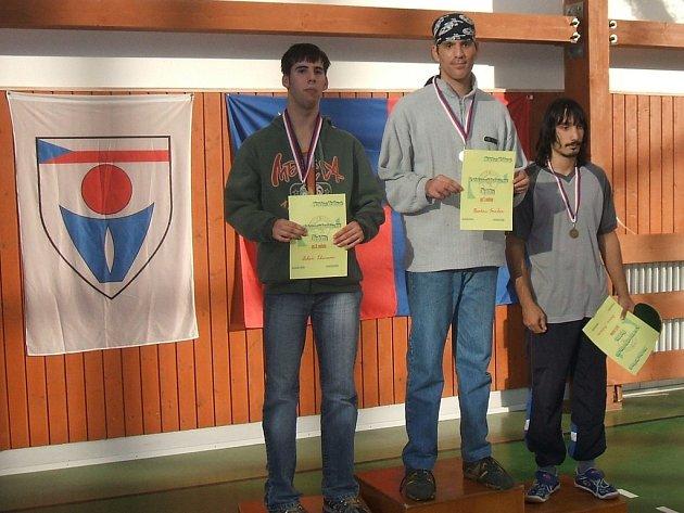 Tři nejúspěšnější muži z kategorie B se nominovali na přebor republiky