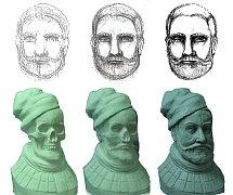 Šlechtic se tvůrci busty zjevil ve snu.