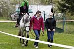 Čarodějnice kam se podíváš. Děti v kostýmech se proháněly i na koních.