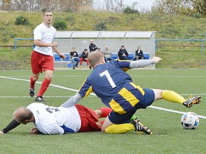 Střetnutí fotbalistů Svitav a Nasavrk se proměnilo v jednoznačnou záležitost domácího mužstva.