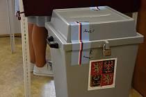 Volby v Desné u Litomyšle.