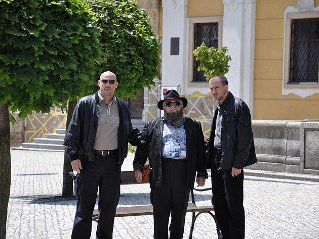 V Poličce od včerejšího dne natáčí režisér Milan Šteindler pilotní díl seriálu Mazáci.
