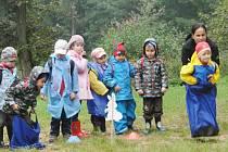 Děti ze svitavských mateřských škol si užily den s Lesy České republiky.