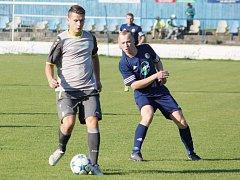 Z utkání SKP Slovan Moravská Třebová vs. 1. FC Žamberk.