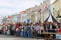 Oslavy 750 let od povýšení Litomyšle na město.