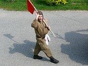 Retro 1. máj v Říkovicích u Litomyšle.