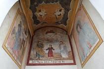 Kaplička ukrývala unikátní barokní fresky