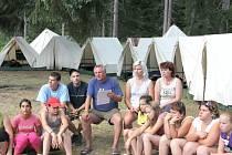 DOVOLENOU tráví starosta Jevíčka Roman Müller každoročně  na táboře v podhůří západních Tater.