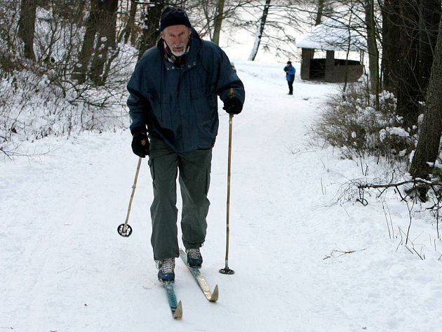 Ilustrační foto: Vyznavači běžek mohou o víkendu využít připravené stopy v Čenkovicích.