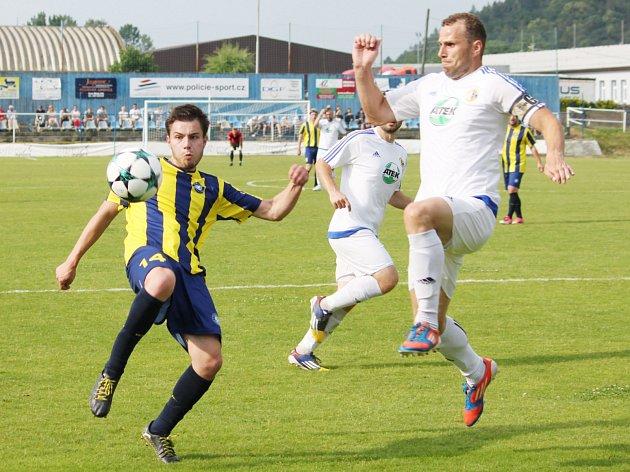 Z utkání SKP Slovan Moravská Třebová vs. TJ Svitavy (0:1).