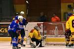 Střelnici si na poličském zimním stadionu na závěr nadstavbové části otevřeli litomyšlští hokejisté.