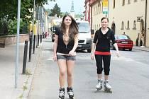 BRUSLAŘI se budou v Třebové ještě proplétat na silnicích mezi auty, na in-line dráhu si musí počkat.