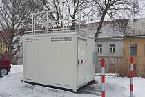 Automatizovaná stanice Českého hydrometeorologického ústavu na Piaristické ulici v Moravské Třebové