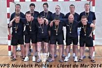 Poličští sáloví fotbalisté si právem odvezli domů pohár za třetí místo. Prezentovali se ve velmi dobrém světle.
