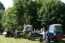 Traktoršou ve Vrážném u Jevíčka