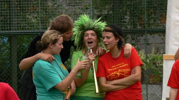 Vesnické hry v Borové