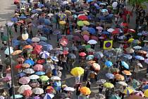 Deštníkový rekord.