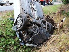 Řidička se nevěnovala řízení