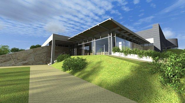 Vizualizace rekonstrukce krytého plaveckého bazénu ve Svitavách