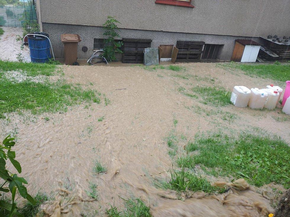 Záplavy v Němčicích