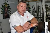 Trenér Josef Hýbl.