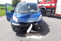 Vážná nehoda se stala ve čtvrtek kolem půl druhé na silnici I/35 z Litomyšle na Vysoké Mýto.