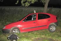 Nehoda opilého řidiče. Ilustrační foto.