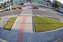 Seniorcentrum a kruhový objezd hlídá nová kamera