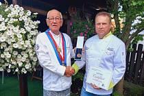 David Nečas ze Starého města získal prestižní kuchařské ocenění.