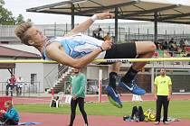 Druholigová atletická soutěž ve Smetanově městě.