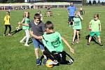Kromě svojí činnosti v libchavském klubu můžete Zdeňka Kocmana potkat rovněž na různých kempech a náborových akcích pro děti. Tak jako na podzim na litomyšlském stadionu.