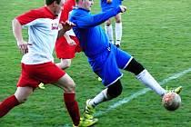 V bojovném duelu mezi Morašicemi a Křenovem byl šťastnější domácí tým.
