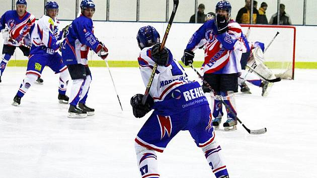 V hokejovém derby porazila Litomyšl Moravskou Třebovou.