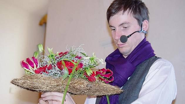 Květinová show na litomyšlském zámku.