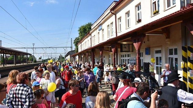 Svitavy oslavily 170. výročí železniční trati do Brna