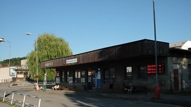 Autobusové nádraží v Moravské Třebové