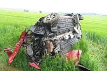 Alkohol zapříčinil nehodu osobního vozu na silnici I/34.