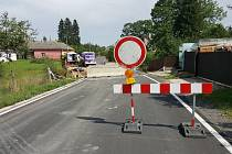V Boršově opravují most.