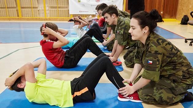 I méně tradiční disciplíny museli zvládnout mladí sportovci.
