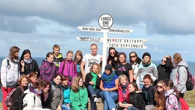 STUDENTI Střední zdravotnické školy ze Svitav navštívili Velkou Británii. Viděli  Konec světa i Londýn.