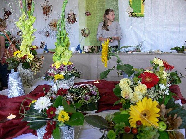Květinová inspirace v Litomyšli.