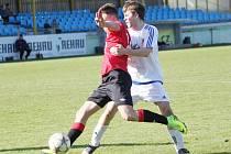 Z utkání SKP Slovan Moravská Třebová vs. MFK Chrudim B.