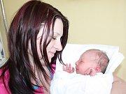 VANESA CHUDOBOVÁ. Malá slečna přišla na svět 16. dubna v 7.29 hodin ve svitavské porodnici. Vážila 3,45 kilogramu a měřila půl metru. S rodiči Petrou a Jaroslavem a osmiletou sestřičkou Klárkou bydlí v Lanškrouně.