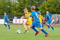 Dva dny plné radosti ze hry v podání mladých fotbalistů z celé republiky. Takový bude víkend na vysokomýtském stadionu.