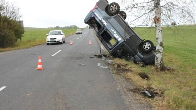 Nehoda Peugeotu