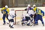 Litomyšlští hokejisté našli teprve ve třetím čtvrtfinále ztracenou střeleckou pohodu a Skuteč to odskákala krutými dvanácti obdrženými brankami.